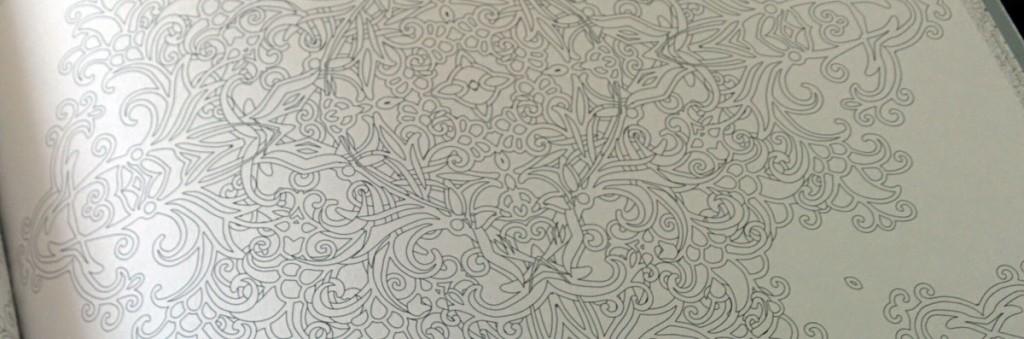 イスラム文様とモザイクのぬり絵ブック