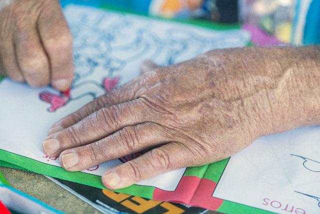 認知症予防にも高齢者向けに使える大人の塗り絵 大人