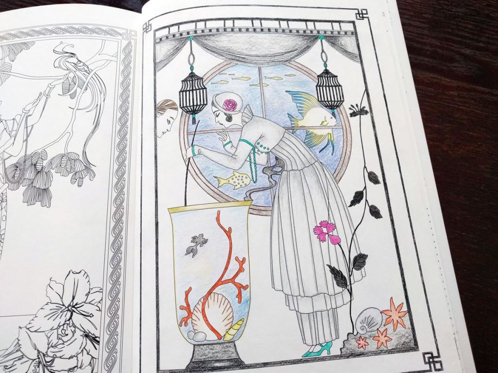 ジョルジュ・バルビエに思いを馳せて『パリのアール・デコ ファッションBOOK』
